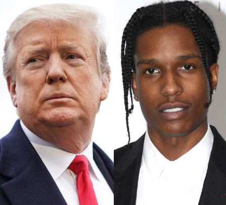 Trump and A$AP Rocky