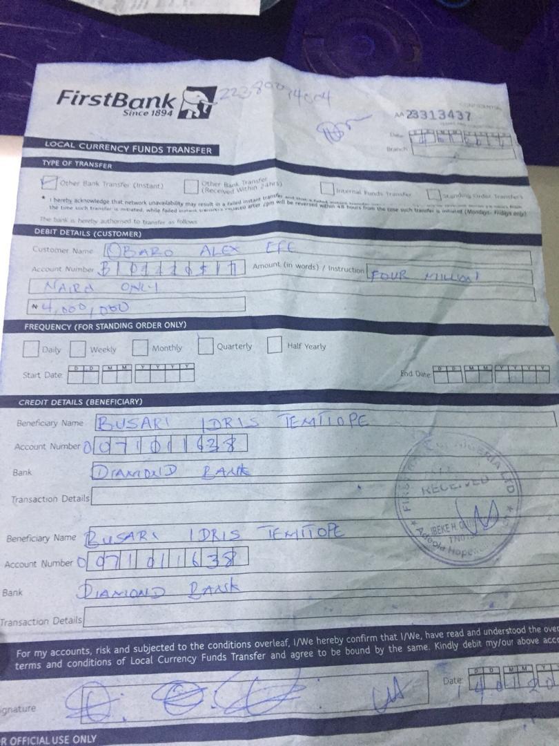FRAUD: Davido Slammed With N4million Lawsuit