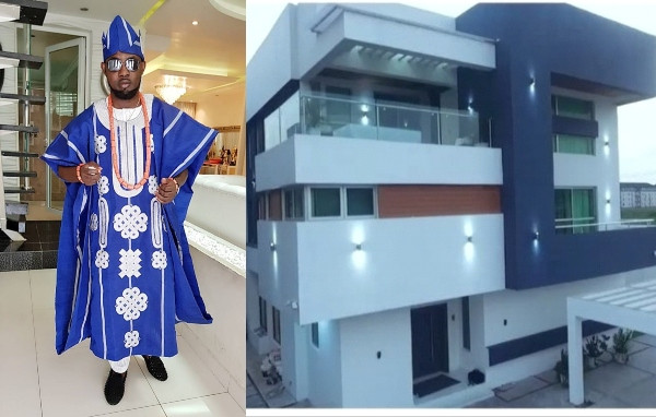 Ayo Makun and his house