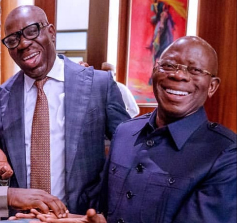 Governor Obaseki and Oshiomhole