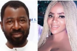 Journalist Tunde Moshood and Cossy Orjiakor