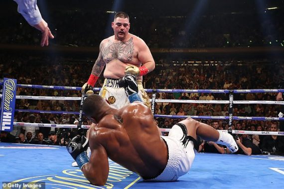 Andy Ruiz Jr Cancels UK Rematch With Anthony Joshua, Says Its A Trap