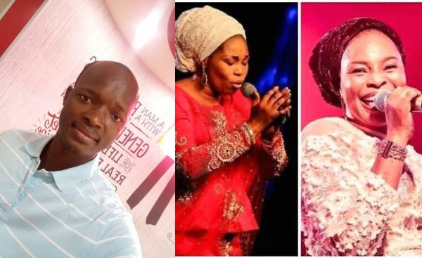 Victor Edet and Tope Alabi