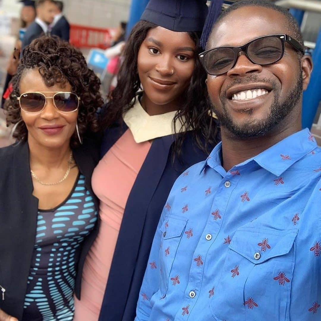 [Photos]: Rapper JJC's Daughter Graduates From UK University