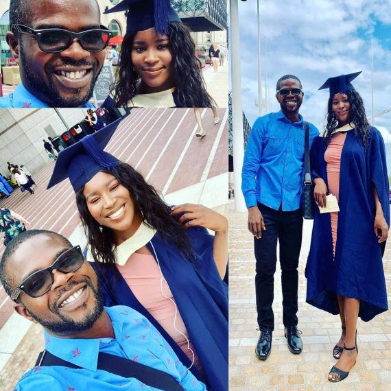 [Photos]: Rapper JJC's Daughter Graduates From UK University
