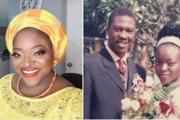 Tunde Obe and Wife, Wunmi
