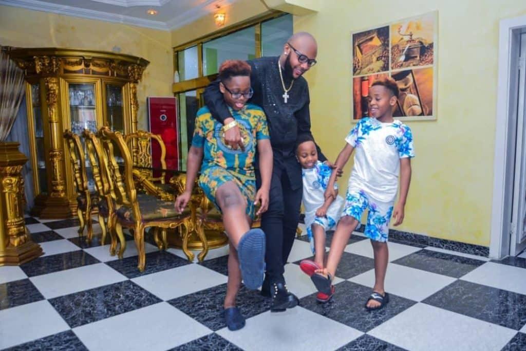 E-Money and his kids