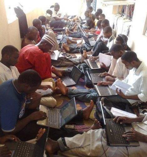 Internet fraudsters