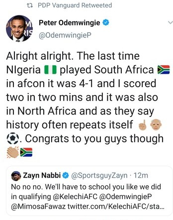 9777517 screenshot20190706221050 jpeg7546dc1658b0e97cff20f2d665a9def72 - AFCON2019: Epic Moment Odemwingie Taught South African Fan History Lesson