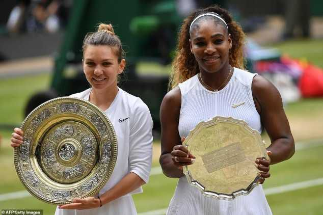 Simona Halep Defeats Serena Williams To Win 2019 Wimbledon