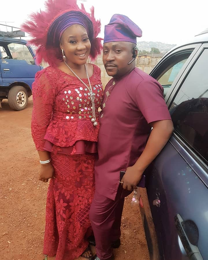 Segun and his first wife