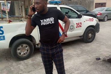 Timi Dakolo Rescued After Suspected Gunmen Parked In Front Of His House (Photo)