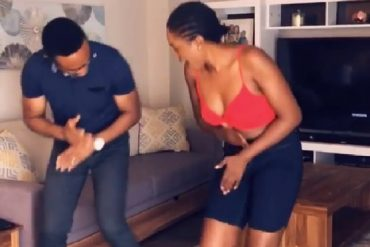 Omoni Oboli, Husband Dance Zanku To Celebrate His Birthday