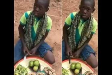 Viral Orange Seller And Singer, Ayomide Receives Scholarship