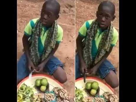 Viral Orange seller, Ayomide