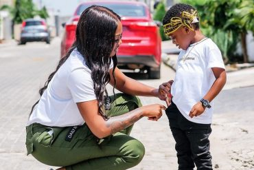 Tiwa Savage Rents Out Entire Cinema For Jamil To Watch Lion King On Birthday