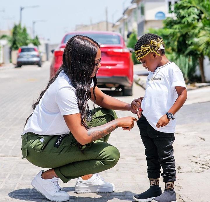Tiwa Savage and Jamil
