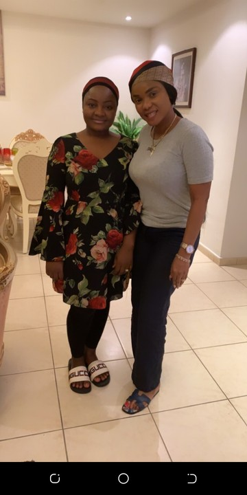 Iyabo Ojo and Mompha's wife