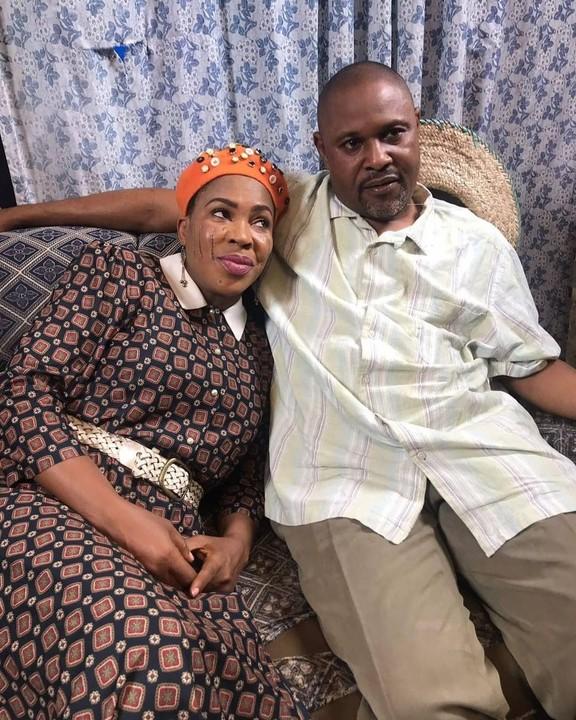Fathia Williams and Saheed Balogun