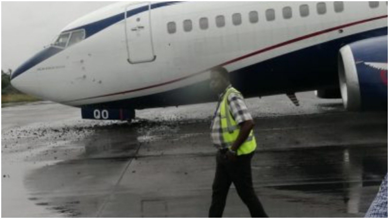 Air Peace crashlands