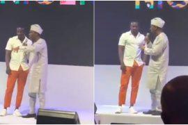 Akon and Obafemi Hamzat