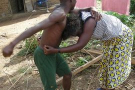 Fight between man and woman