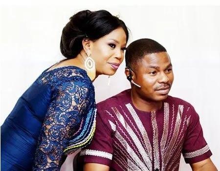yinka ayefele and wife