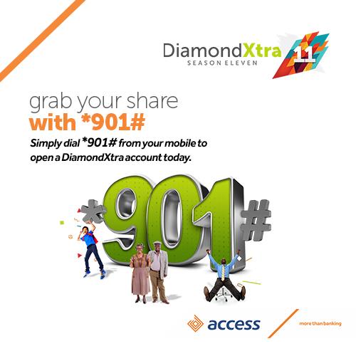 Access Bank takes DiamondXtra Digital on *901#