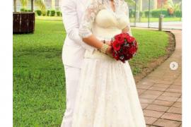 Super Eagles Goalkeeper Austin Ejide And His Wife Celebrate 6th Wedding Anniversary
