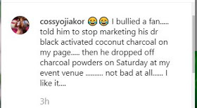 Capture 2 - Cossy Orjiakor Narrates What She Did To A Fan