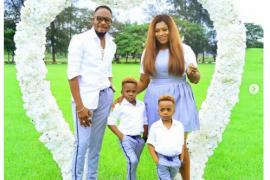 Junior Pope Odunwodo and his beautiful family