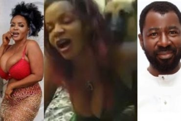 Tunde Moshood Shares Video Of Cossy Orjiakor Having Sex With A Dog (Watch Video)