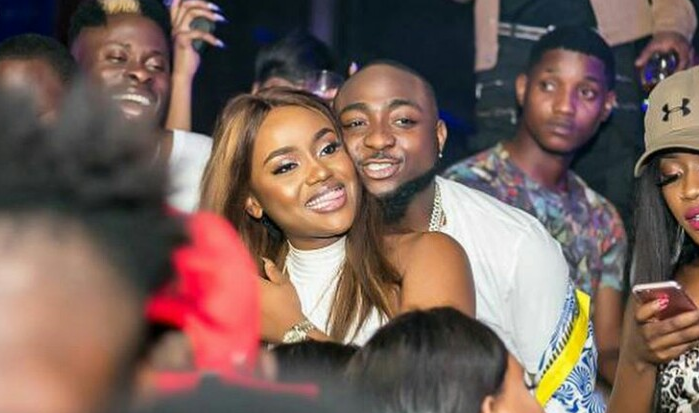 Davido Chioma 1 - Chioma Says 'Yes' As Davido Proposes With Diamond Ring