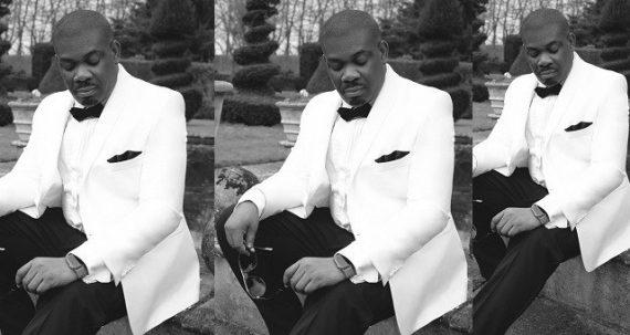 Don Jazzy in pre-wedding photos