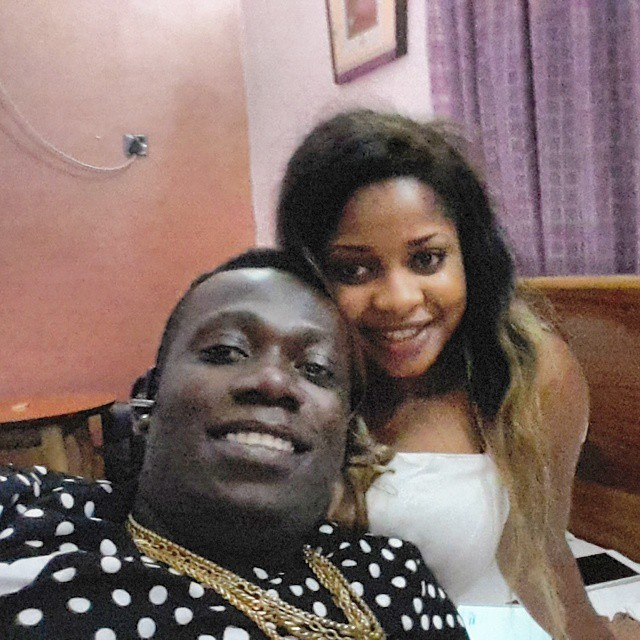 Duncan Mighty and his wife, Vivien