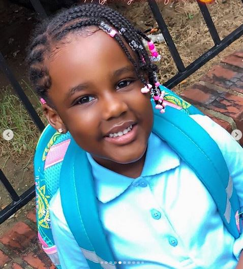 #BBNaija 2019: Meet Avala's 5-Year-Old Daughter, Elaine