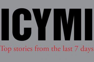 The Five Biggest Stories You Missed Last Week