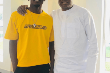 Femi Otedola Wishes Mr Eazi A Happy Birthday
