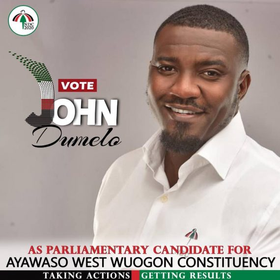 John Dumelo Campaign Poster