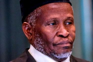 Video Of CJN Tanko's Incoherent Response To 'Intimidation of The Judiciary' Emerges