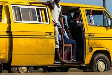 Commercial bus in Lagos