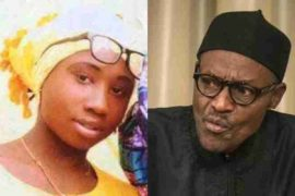 Leah Sharibu and President Buhari