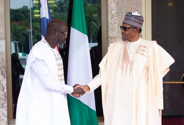 Weah and Buhari
