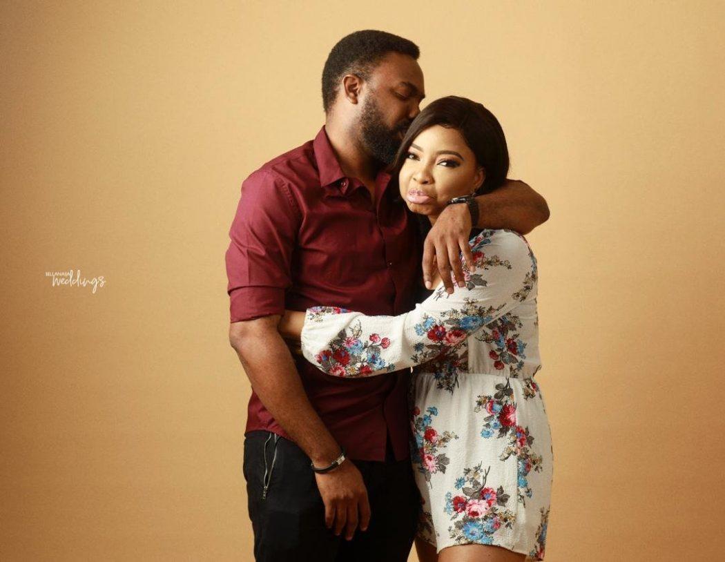 Ibrahim Sulieman and Linda Ejiofor
