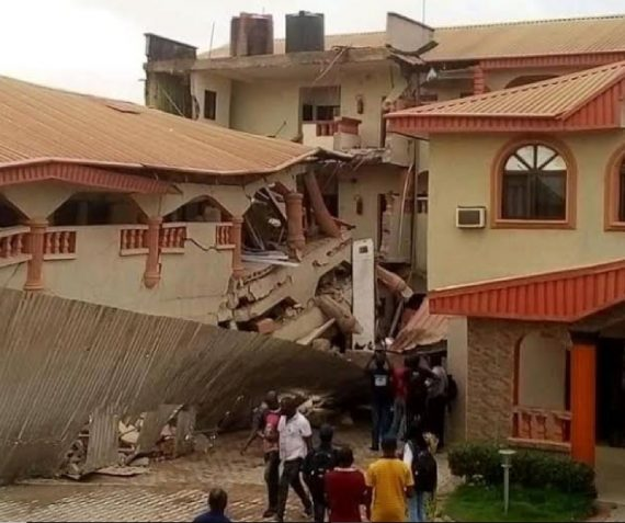 Collapsed Metro View Hotel