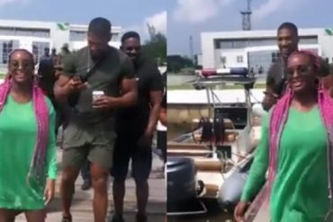 DJ Cuppy Takes Anthony Joshua On Boat Cruise Date In Lagos