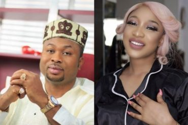 """I Woke Up Missing Your Cuddles"" – Tonto Dikeh Tells Her Man"