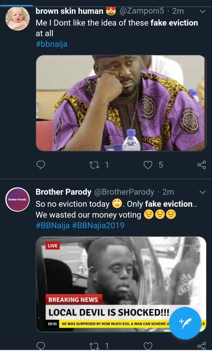 Screenshot 20190721 1921202 - BBNaija2019: Nigerians Slam Big Brother Over Fake Eviction