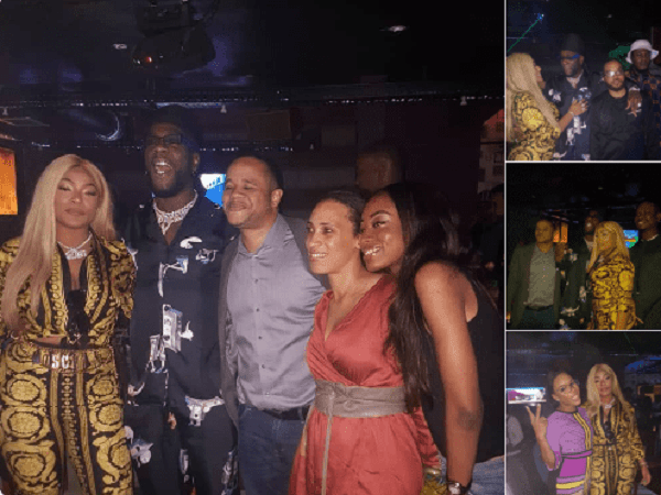 See Photos From Burna Boy's 28th Birthday Party 600x450 - [VIDEO]: How Burna Boy Celebrated Birthday With His Girlfriend