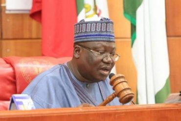 Senate President Lawan Reacts As Anthony Joshua Reclaims Heavyweight Titles